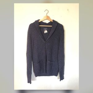 American Eagle Navy Blue button up cardigan